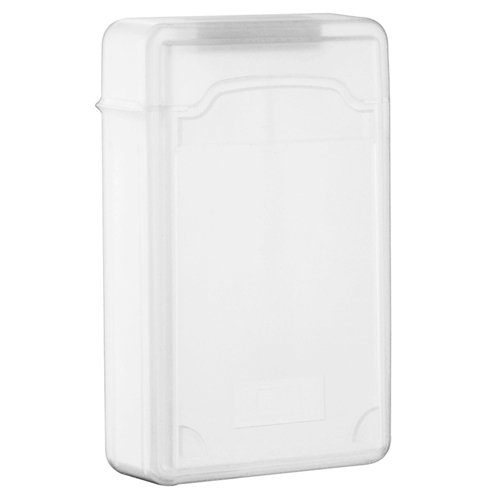 eForCity SATA HDD Hard Drive Storage Case, 3.5 INCH, Clear