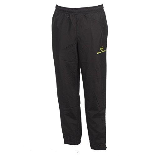 Sergio tacchini-fit Parson nr/lime pant-Pantaloni tuta nero Large