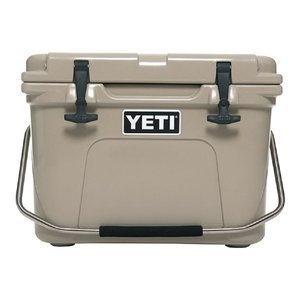 Yeti Roadie Cooler, 20 quart, Desert Tan by Yeti