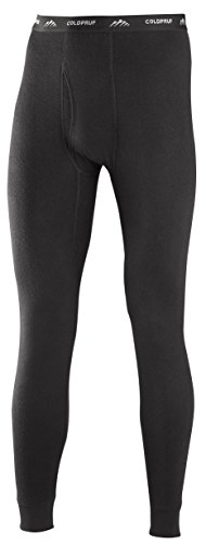 ColdPruf Men's Platinum Dual Layer Bottom, Black, 2X-Large (Thermal Sports Underwear compare prices)