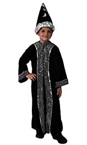 Wizard Costume Robe and Hat Set