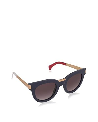 Tommy Hilfiger Gafas de Sol 1379/S EUQE449 (49 mm) Azul