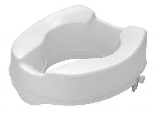 Toilettensitzerhöher, RTS, ohne Deckel, Sitzerhöhung WC vom Stock-Fachmann 1 Stück