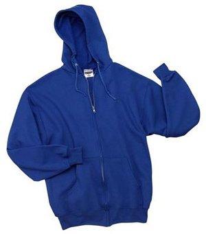 JERZEES - Full Zip Hooded Sweatshirt True Royal-M - Buy JERZEES - Full Zip Hooded Sweatshirt True Royal-M - Purchase JERZEES - Full Zip Hooded Sweatshirt True Royal-M (Jerzees, Jerzees Apparel, Jerzees Mens Apparel, Apparel, Departments, Men)