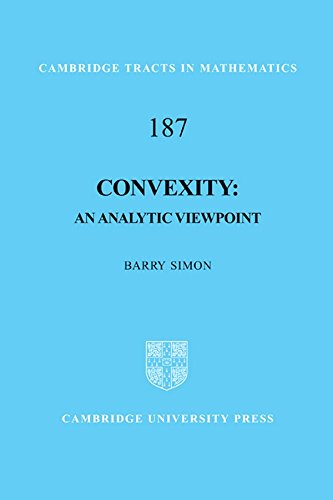 Convexity Hardback (Cambridge Tracts in Mathematics)