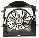 TYC 620200 Jeep Grand Cherokee Replacement Radiator/Condenser Cooling Fan Assembly