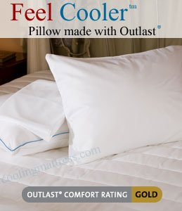 Cooling Pillow (Standard) - The Feel Cooler™ Pillow That Keeps You Cool