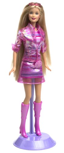 BARBIE Cut 'n Style Doll w Extra Hair Extensions, Scissors & More (2002) (Metal Doll Hair Brush compare prices)