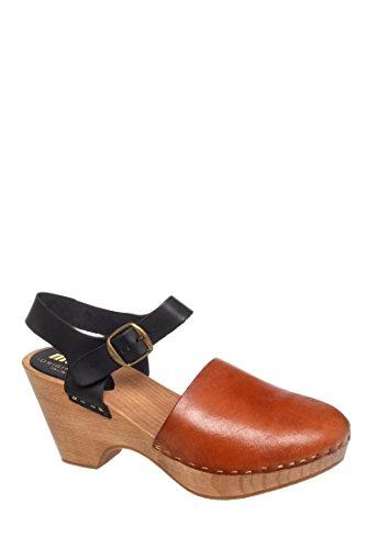 Mid Heel Platform Sandal