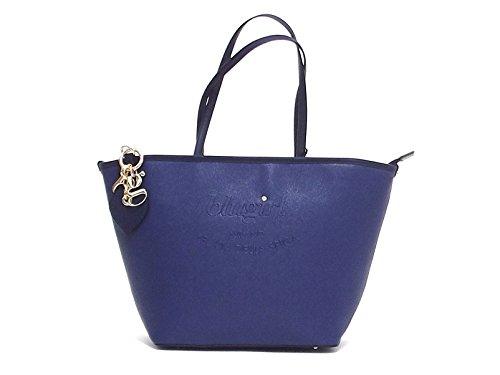 Borsa donna Blugirl, 829001, a spalla, ecopelle blu A6102