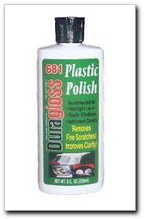 Duragloss 681 Pink Creamy Plastic Lens Polish - 8 oz. (Lucite Polish compare prices)