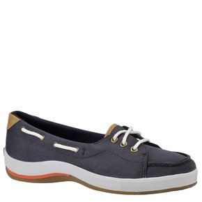 Keds Women's Portside Boat Shoe,Navy,8.5 M US