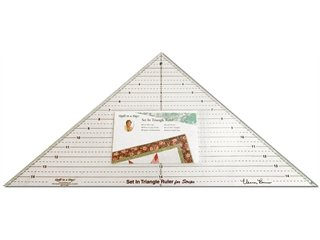Quilt In A Day Ruler Set In Triangle