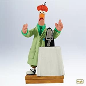#!Cheap QXI2167 Beaker's Ode To Joy The Muppets 2011 Hallmark Keepsake Magic Ornament