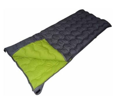Ozark Trail 1.5Lb/50F Warm Weather Rectangular Sleeping Bag: Grey front-602134