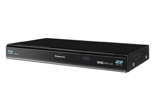 Panasonic DMR-PWT500EB 320GB HDD TV Recorder with 3D Blu-ray Player and Twin Freeview HD Tuners