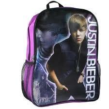 Amazon.com: Justin Bieber Glow Purple Backpack: Toys & Games - photo #18