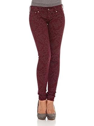 Pepe Jeans London Pantalón Skittle (Burdeos)
