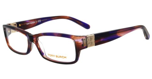 Tory Burch Tory Burch 2024 Eyeglasses 1079 Light Brown Horn Demo Lens