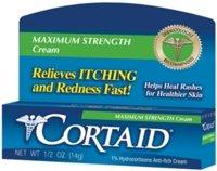 CORTAID MAX STRENGTH CREAM