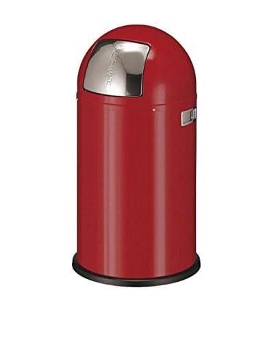Wesco Cubo De Basura Pushboy 50 L Rojo