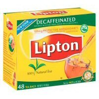 Lipton Decaffeinated Tea