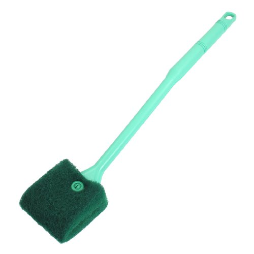 uxcell-green-plastic-handle-sponge-cleaning-brush-cleaners-for-fish-tank-16-long