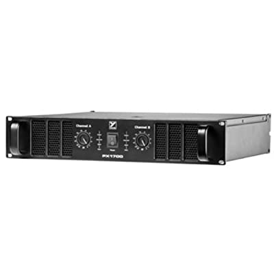 Yorkville PX1700 2 x 850W Power Amplifier by Yorkville Sound