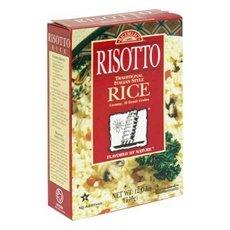 Rice Select Risotto arborio rice, creamy, al dente grains, microwavable 12 oz Box