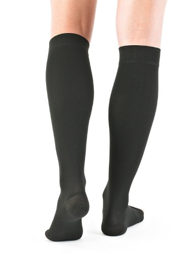 Neo g medical grade compression hosiery open toe knee high stockings