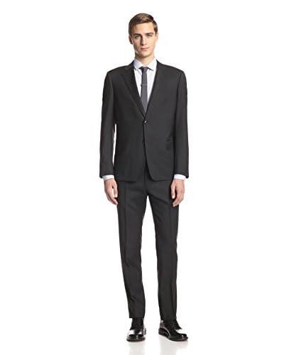 """Armani Collezioni Men's 6"""" Drop Notch Lapel Suit"""