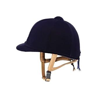 pas cher caldene prestige bombe d 39 quitation junior bleu. Black Bedroom Furniture Sets. Home Design Ideas