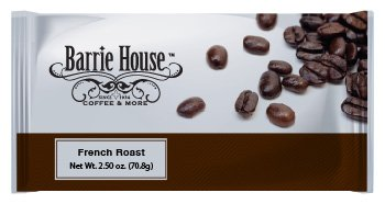 Barrie House Coffee French Roast Coffee 2.50 oz. Portion Pack 24ct