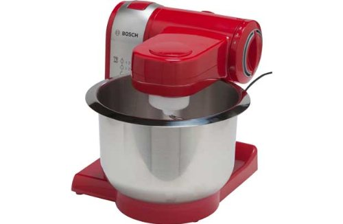 [HSB] Bosch MUM48R1GB Red Food Mixer with Microfibre HSB® Cleaning Glove from Bosch