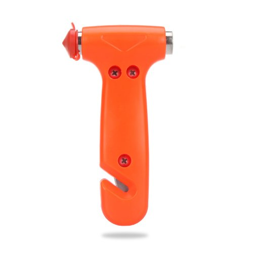 Kingzer Car Auto Window Breaker Emergency Hammer Belt Cutter Bus Safe Escape Tool Kit front-1046778