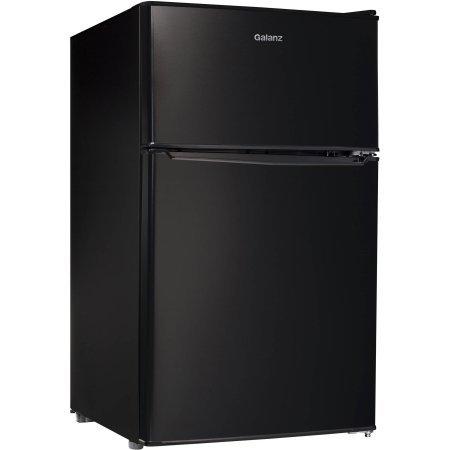 Galanz 3.1 cu ft Compact Refrigerator | Adjustable Thermostat Control, Black (Sub Zero Refrigerator Thermostat compare prices)