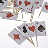 Playing Card Food Picks