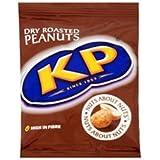 KP Dry Roasted Peanuts 50g bag (card of 24)