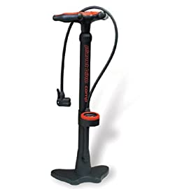 Planet Bike Comp Floor Bicycle Pump w/Gauge - 1007-3