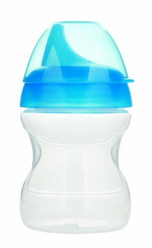 Mam Learn To Drink Training Cup, Blue, 6.5 Ounce front-789686