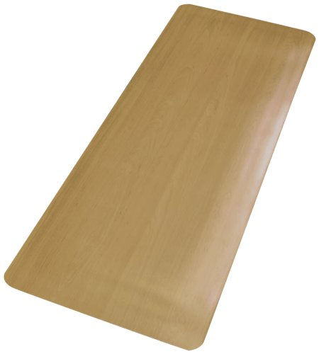NoTrax 478S1848MP Comfort Style Mat, 18″ Width x 48″ Length x 1/2″ Thickness, Maple