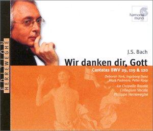 Cantates BWV 29, 119 & 120