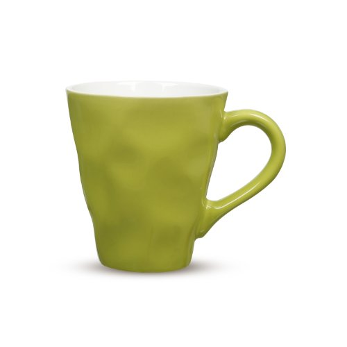 Maxwell & Williams Krinkle Mug, 12.5-Ounce, Lime