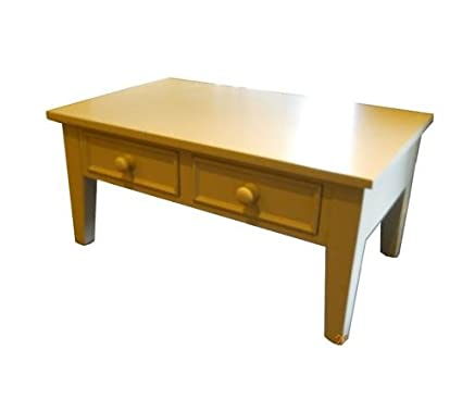 Wye Pine Painted Coffee Table - Mix - Colour: White