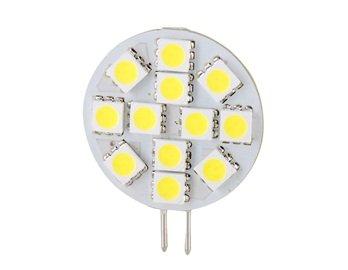 Dc12V 2.4W 12 Smd Leds G4 Warm White Light Led Bulb