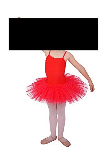 Balletttrikot mit Tütü Modell Noelle in verschiedene Farben