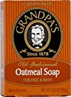 Grandpas Old Fashioned Oatmeal Bar Soap for Face and Bath
