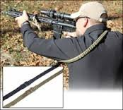 Vtac 2 Point Bungee Sling in BLACK New Release 2013 by Viking Tactics