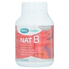 buy Mega We Care Nat-B Mixed Vitamin B 40 Capsules By Thaidd
