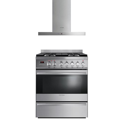 Fisher Paykel 2-Piece Stainless Steel Kitchen Set with OR30SDPWGX1 30